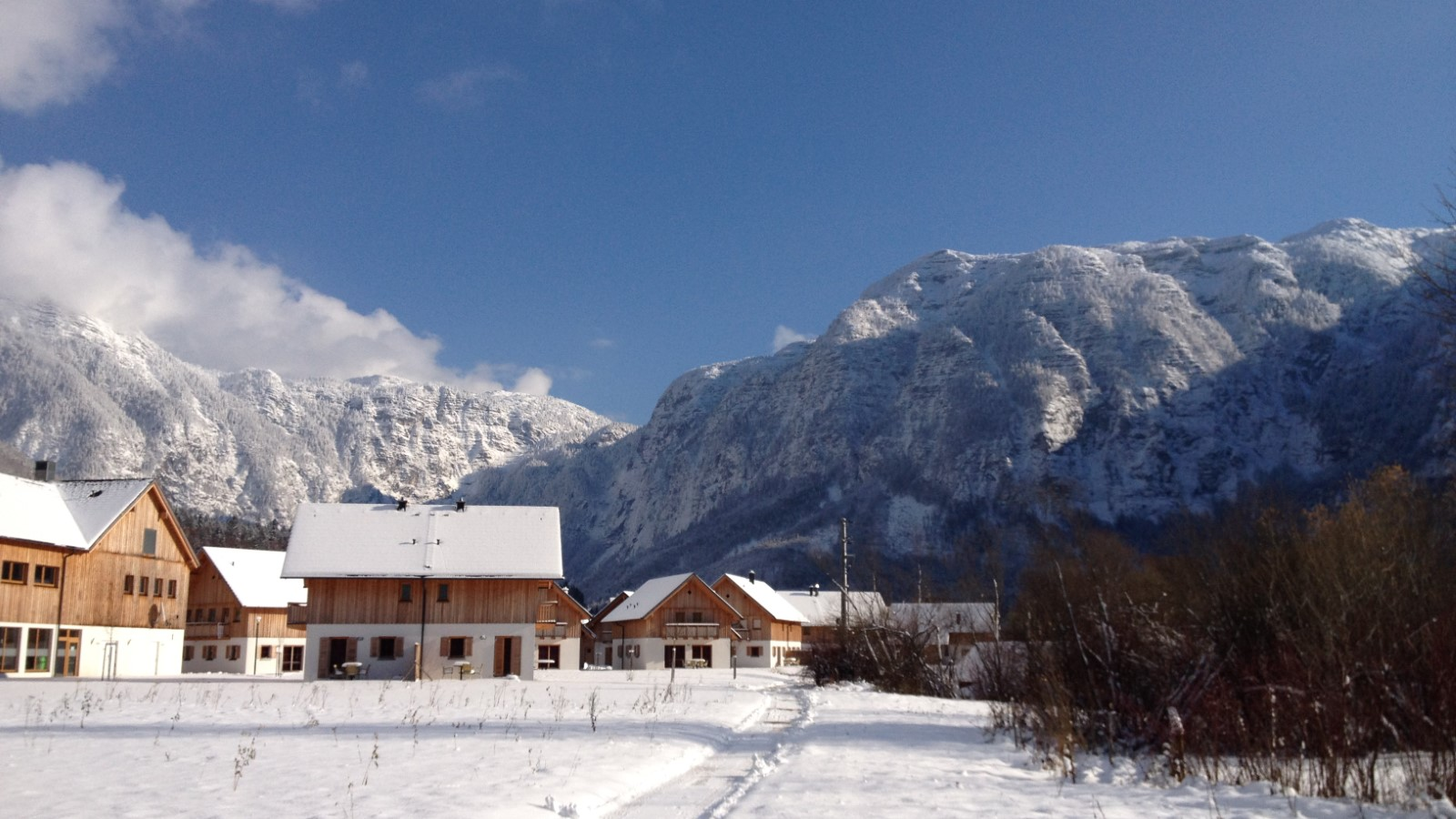 Obertraun winter